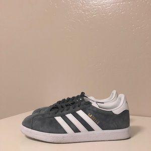 Adidas Gazelle Sneaker Grey Unisex Size 5